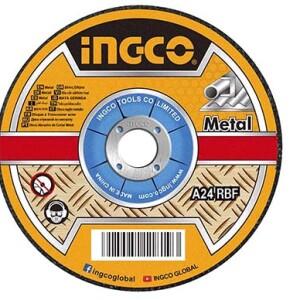Abrasive metal cutting disc